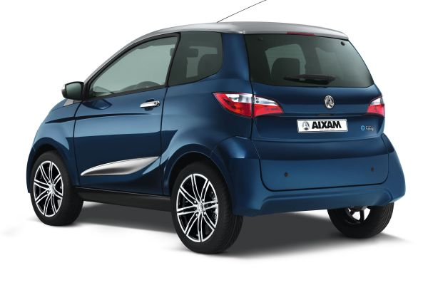 AIXAM licence-free cars City Rear blue