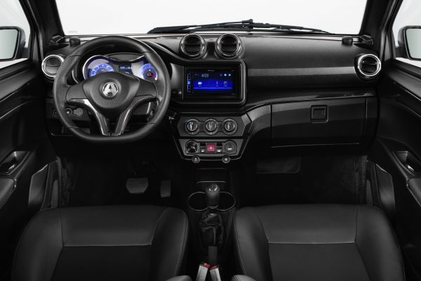 AIXAM licence-free cars Coupé Carbon look interior