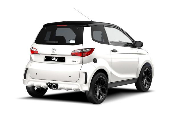 AIXAM licence-free cars City 2.City Sport 2020 3/4 back