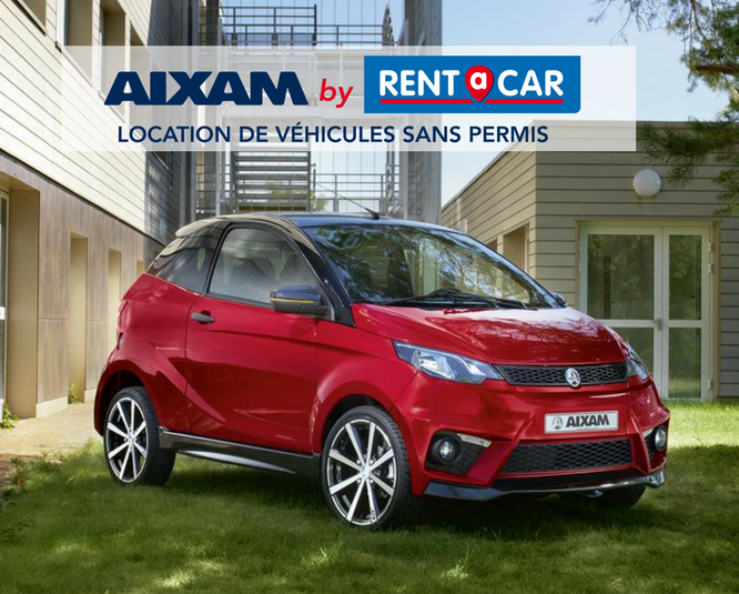 aixam by rent a car location de voiture sans permis. Black Bedroom Furniture Sets. Home Design Ideas